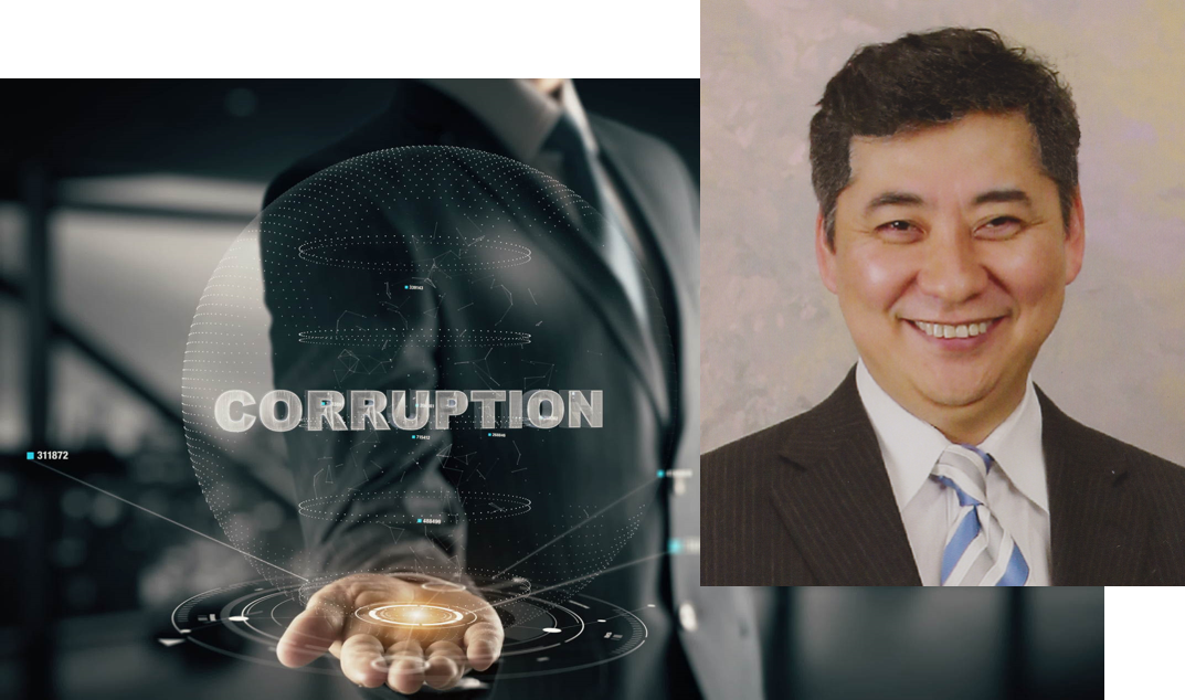 """Republic of Corruption"" by Marcelo Hiratsuka, REFINITIV"